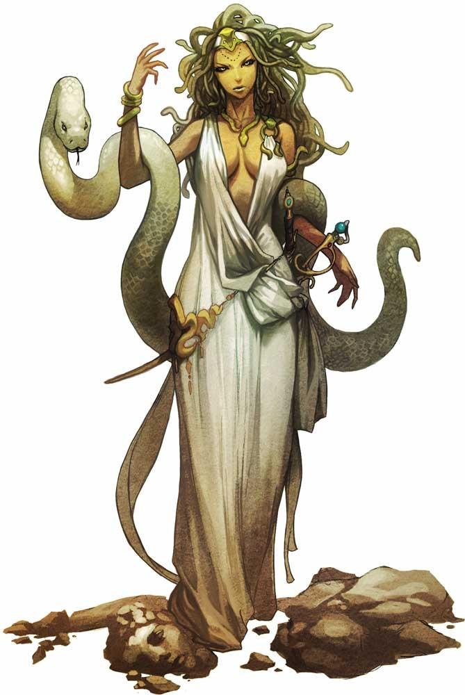Medusa Wiki Mitología Fandom
