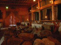 Viking Chieftain Hall Rodeborg, Rosala Viking Center in Finland, Pöllö