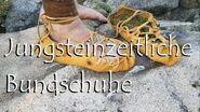 Jungsteinzeitliche (neolitische) Schuhe nach Fund vom Schnidejoch
