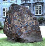 Runenstein - National Museum, Copenhagen