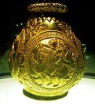 Sarmatischer Reiter, Nagyszentmiklós Treasure16 KHM Wien