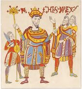 Leges Langobardorum, König Rachis 9.Jh., trachtenkunstwer01hefn Taf.016a