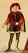 Meyers Großes KVL Kostüme 02 11536b Abb. 01 - Florentiner 15. Jh