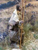 Reconstitution d'homo sapiens Caverne du Pont d'Arc 1