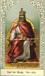 Karl der Große, Barack, Die deutschen Kaiser.jpg