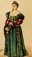 MgKL Kostüme 02 Wm11536b, Abb.13 - Edle Venezianerin um 1530
