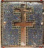 Kreuzreliquiar der heiligen Radegunde, Poitiers 570