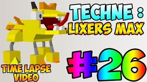 Mixel Modeling 26 - Lixers MAX (Time Lapse Video)