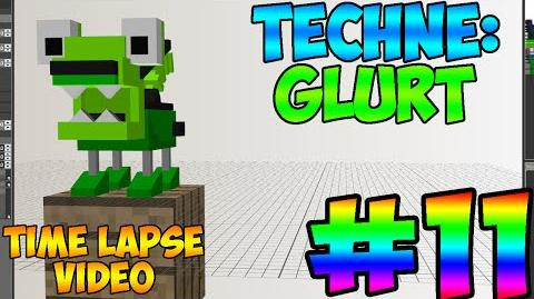 Mixel Modeling - Glurt The Glorp Corp Mixel (Time Lapse Video)-0