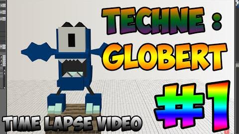 Mixel Modeling - Globert The Glowkie Mixel (Time Lapse Video)