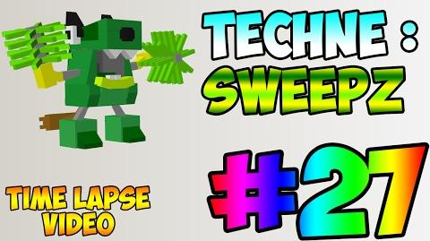 Mixel Modeling 27 - Sweepz The Trashoz Mixel (Time Lapse Video)
