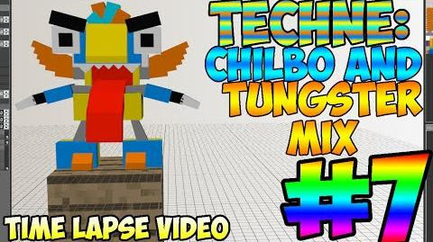Mixel Modeling - Chilbo And Tungster Mix (Time Lapse Video)