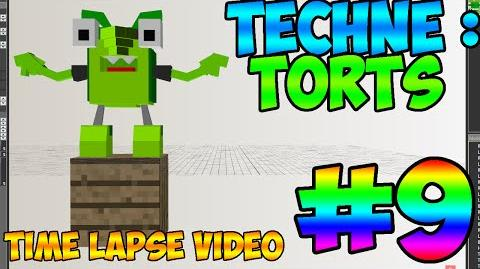 Mixel Modeling - Torts the Glorp Corp Mixel (Time Lapse Video)-0