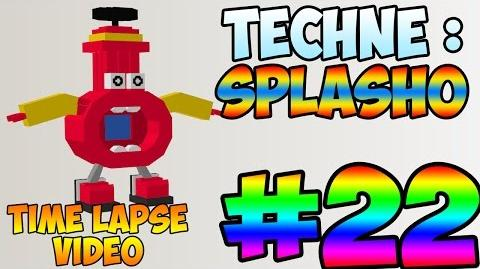Mixel_Modeling_22_-_Splasho_The_MCFD_Mixel_(Time_Lapse_Video)