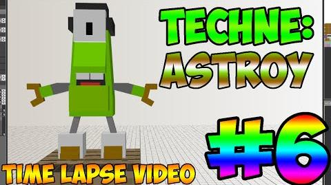 Mixel Modeling - Astroy The Orbiton Student Mixel (Time Lapse Video)