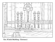 Icubit building entrance