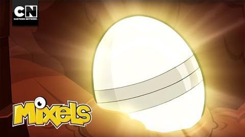 The Egg Rock Opens Mixels Cartoon Network