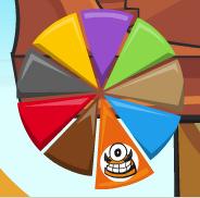 Kraw in Mixels Pie Graph
