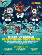 Mixed-up Mixels matching mayhem