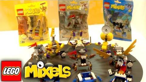 LEGO Mixels 2016 - Series 7 & 8 (41554-41571) Nuremberg Toy Fair