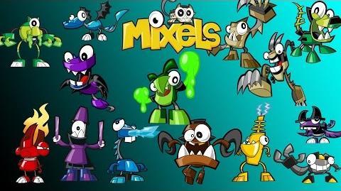 Calling All Mixels - Mixels Get Upset ( All Upsets )