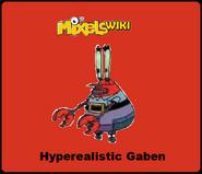 Mixels Wiki Hyperealistic Gaben Badge