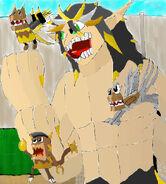 Screenshot battle chapter 9 Enraides and Sacred Sworrds Fang Gang Mix