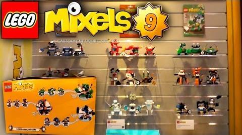 LEGO Mixels 2016 - Series 9 - Trashoz, Nindjas, Newzers Tribes - New York Toy Fair