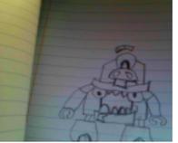 My drawing of Vaka-Waka