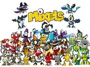 Every mixel up to series 4