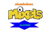Mixels Blasters logo