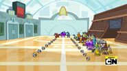 Zoomout of gym when deciding teams