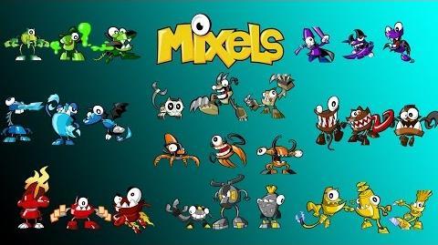 Calling All Mixels - The Mixels Animation!