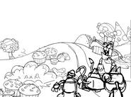 Food plains intro concept + Gurggle concept