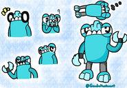 2014 07 01 Mixels Slumbo doodles