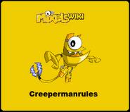 Mixels Wiki Creepermanrules Badge