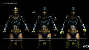 D'vorah Variations in Mortal Kombat X