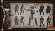 MK9 Artbook - Raiden
