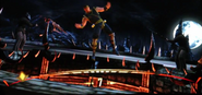 Cyrax at test your balance