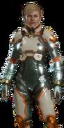 Cassie Cage Skin - Pax Technologica