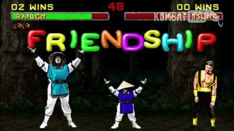 MK II Raiden Friendship