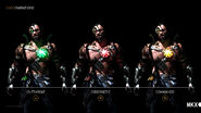 MK X Kano Variations