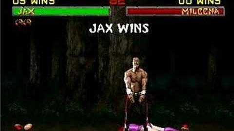 Mortal Kombat II Jax Fatality