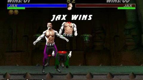 Mortal Kombat 3 - Fatality 1 - Jax