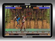 Mortal Kombat Advance Game Boy Advance - Nightwolf Playthrough