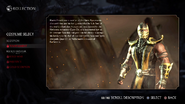 MKX Scorpion Alternate Tournament Costume