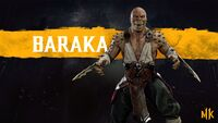 Mk11 Baraka wallpaper