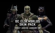 DC Elsewords Skin Pack