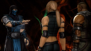Sub-Zero Meets Sonya & Jax