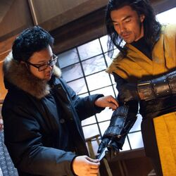 Kevin Tancharoen with Ian Anthony Dale.jpg